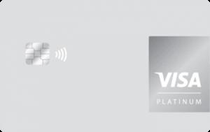 Кредитна картка Бонус Platinum Visa - від Укрексімбанк