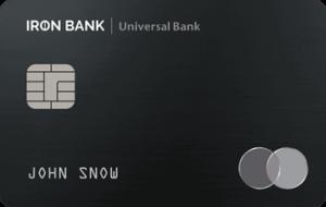 Кредитная карта IRON BANK MasterCard - от Монобанк