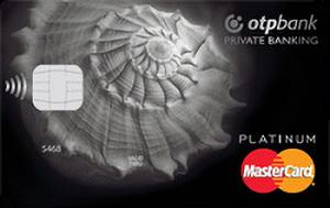 Кредитна картка Platinum Private Banking MasterCard - від ОТП Банк