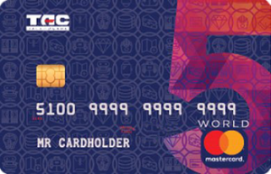 Кредитна картка Велика п'ятірка MasterCard - від Таскомбанк