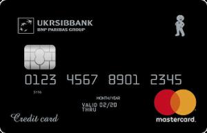 Кредитна картка Картка з лімітом MasterCard - від Укрсіббанк