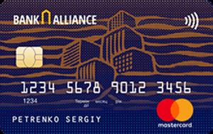 Платёжная карта Копилка MasterCard - от Альянс