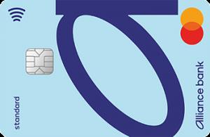 Платёжная карта Персональная Standart MasterCard - от Альянс