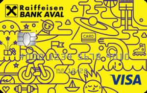 Платіжна картка FUN Visa - від Райффайзен Банк Аваль
