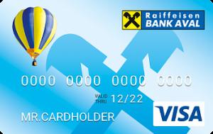 Платіжна картка Оптимальний + Visa - від Райффайзен Банк Аваль