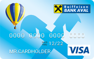 Платіжна картка Оптимальний Visa - від Райффайзен Банк Аваль