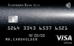 Платіжна картка Exclusive Visa - від Райффайзен Банк Аваль