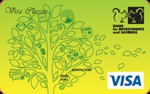 Платёжная карта Универсальная Visa - от Банк инвестиций и сбережений