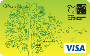 Платёжная карта Зарплатная Classic Visa - от Банк инвестиций и сбережений
