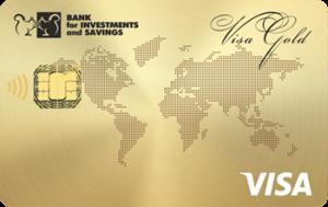 Платёжная карта Зарплатная Gold Visa - от Банк инвестиций и сбережений