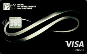 Платёжная карта Infinite Visa - от Банк инвестиций и сбережений