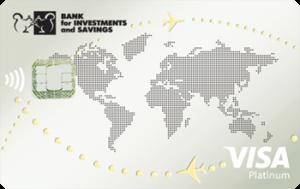 Платёжная карта Platinum VIP Visa - от Банк инвестиций и сбережений