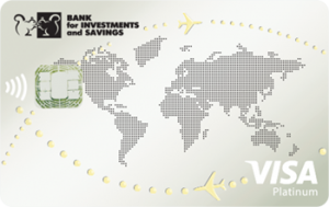 Платіжна картка Зарплатна Platinum Visa - від Банк інвестицій та заощаджень