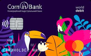 Платіжна картка Дитяча MasterCard - від Комінбанк