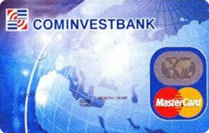 Платёжная карта Пенсионная MasterCard - от Коминвестбанк