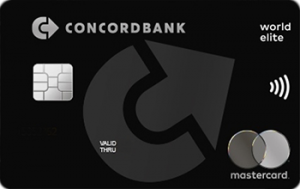 Платёжная карта Elite MasterCard - от КОНКОРД