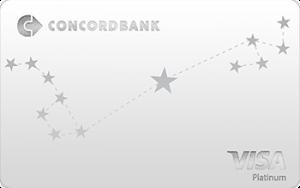 Платёжная карта Platinum Visa - от КОНКОРД