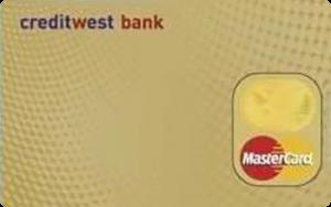 Платіжна картка Gold MasterCard - від КредитВест Банк