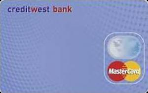 Платіжна картка Standard MasterCard - від КредитВест Банк