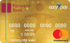 Платёжная карта EasyPay кобренд MasterCard - от Форвард Банк