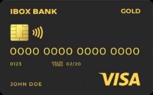 Платёжная карта Gold Visa - от АЙБОКС БАНК