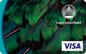 Платёжная карта Стандарт PayWave Visa - от Индустриалбанк