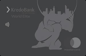 Платіжна картка Elite MasterCard - від Кредобанк