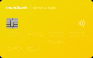 Платёжная карта Детская MasterCard - от Монобанк