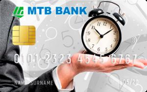Платіжна картка Миттєва MasterCard - від МТБанк