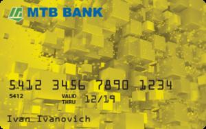 Платіжна картка Premium Gold Visa - від МТБ БАНК