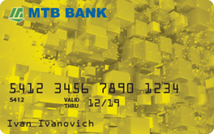 Платіжна картка Premium Gold MasterCard - від МТБ БАНК
