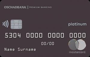 Платіжна картка Platinum MasterCard - від Ощадбанк
