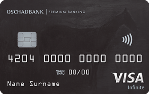 Платіжна картка Elite Visa - від Ощадбанк