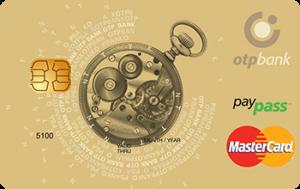 Платіжна картка Золота MasterCard - від ОТП Банк