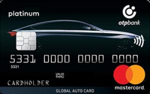 Платіжна картка Global Auto Card MasterCard - від ОТП Банк