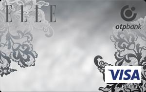 Платіжна картка ELLE Platinum Visa - від ОТП Банк