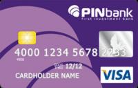 Платіжна картка Класична Visa - від ПЕРШИЙ ІНВЕСТИЦІЙНИЙ БАНК - ПІН Банк