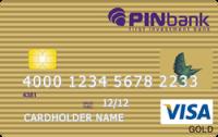 Платіжна картка Золота Visa - від ПЕРШИЙ ІНВЕСТИЦІЙНИЙ БАНК - ПІН Банк