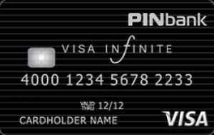 Платіжна картка Преміум VIP Visa - від ПЕРШИЙ ІНВЕСТИЦІЙНИЙ БАНК - ПІН Банк