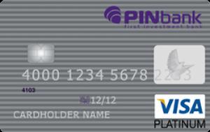 Платіжна картка Преміум Visa - від ПЕРШИЙ ІНВЕСТИЦІЙНИЙ БАНК - ПІН Банк