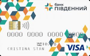 Платіжна картка Стартова Visa - від Південний