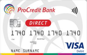 Платіжна картка Все в одному Visa - від ПроКредит Банк