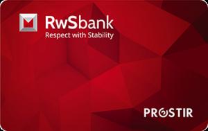 Платіжна картка Персональна Простір - від РВС Банк