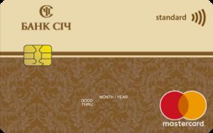 Платёжная карта Прибыльная MasterCard - от Банк Сич