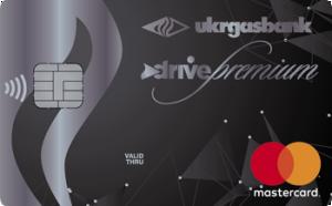 Платіжна картка Преміум Драйв MasterCard - від Укргазбанк