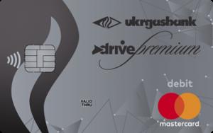 Платіжна картка Преміум Драйв зарплатна MasterCard - від Укргазбанк