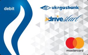Платіжна картка Старт Драйв зарплатна MasterCard - від Укргазбанк