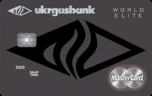 Платіжна картка Вояж Драйв MasterCard - від Укргазбанк