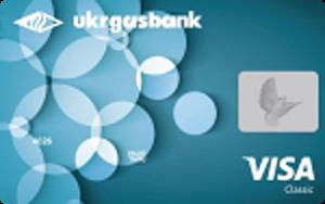 Платіжна картка Старт Драйв зарплатна Visa - від Укргазбанк