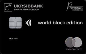 Платіжна картка Black Edition MasterCard - від Укрсіббанк
